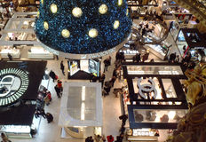 ?rvore de Natal de Swarovski Imagem de Stock Royalty Free