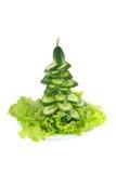 ?rvore decorativa do pepino Imagens de Stock Royalty Free