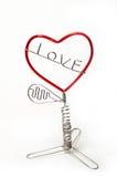 Árvore do amor Imagem de Stock
