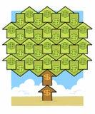 Árvore do dinheiro do dólar Imagem de Stock Royalty Free