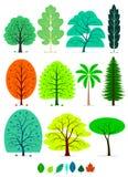 Árvores Fotografia de Stock Royalty Free