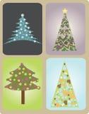 Árvores de Natal Imagem de Stock