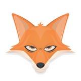 Rävvektorillustration Royaltyfri Fotografi