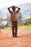 Rwanda boy Royalty Free Stock Images