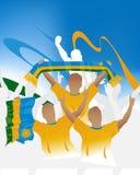 Rwanda crowd Stock Image
