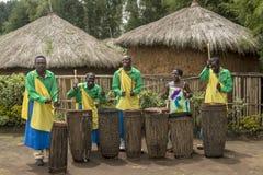 Rwanda Drummers Royalty Free Stock Photography