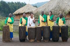 Rwanda drums Royalty Free Stock Photo