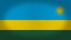 Rwanda Flag Royalty Free Stock Photography