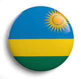 Rwanda flag Royalty Free Stock Photo