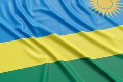 Rwanda flag Royalty Free Stock Images