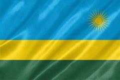 Rwanda flagga vektor illustrationer