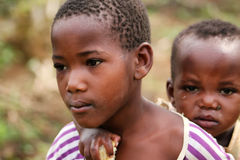Rwanda kids Stock Photo