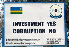 Rwanda Ombudsman Stock Photos
