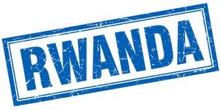 Rwanda stamp. Rwanda square grunge stamp isolated on white background Royalty Free Stock Images