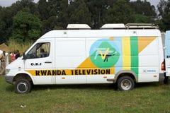 Rwanda television Stock Photo