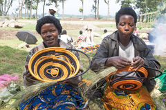 Rwandan artifacts Stock Photography