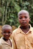 Rwandan boys Stock Images