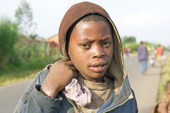 Rwandan child Royalty Free Stock Image