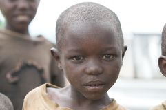 Rwandan child Stock Photo