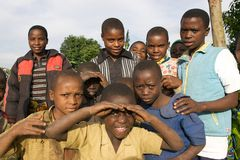 Rwandan children Stock Photography