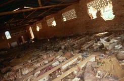 A Rwandan genocide site. Stock Image