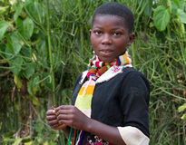 Rwandan girl Royalty Free Stock Photo