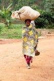 rwandan kvinna royaltyfri foto