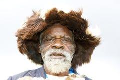 Rwandan medicine man stock photo