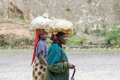 Rwandan weman Royalty Free Stock Images