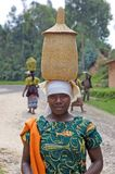 Rwandan woman Stock Image