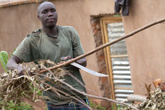 Rwandan worker Stock Photos