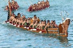 RWC Maori Waka Stock Afbeelding