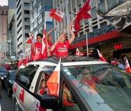 RWC Tongan Fans Go Wild Stock Image