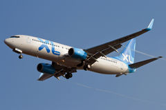 rwy飞机处理的喷气机 免版税库存图片