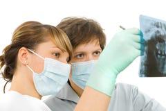 Rx dentaire examinent photo stock