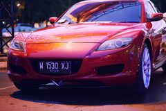 The RX8 Royalty Free Stock Photo