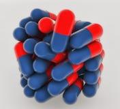 RX medicine capsules Stock Images