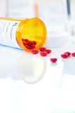 RX prescription drug bottle Stock Photos