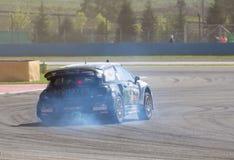 RX-världen samlar den arga bilen Royaltyfri Foto