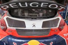 RX World Rally Cross Car Royalty Free Stock Photo