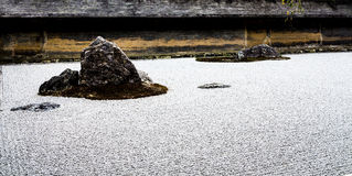 Ry�an-ji temple rock garden Stock Image