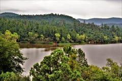 Ryś jezioro, Bradshaw leśniczego okręg, prescotta las państwowy, stan Arizona, Stany Zjednoczone Zdjęcie Stock