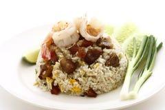 ryż krewetka ryż Zdjęcie Stock