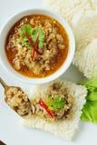 ryż przekąska Obrazy Stock