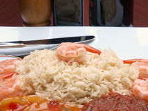 ryżowa garnela Obrazy Royalty Free