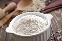 Ryżowa mąka zdjęcie royalty free