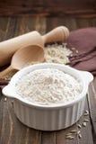 Ryżowa mąka zdjęcia stock
