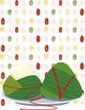 Ryżowe kluchy royalty ilustracja