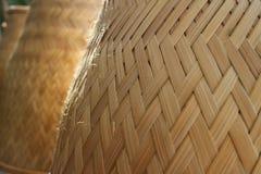 Ryżowe kuchenki robić drewno fotografia stock