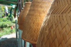 Ryżowe kuchenki robić drewno zdjęcie royalty free